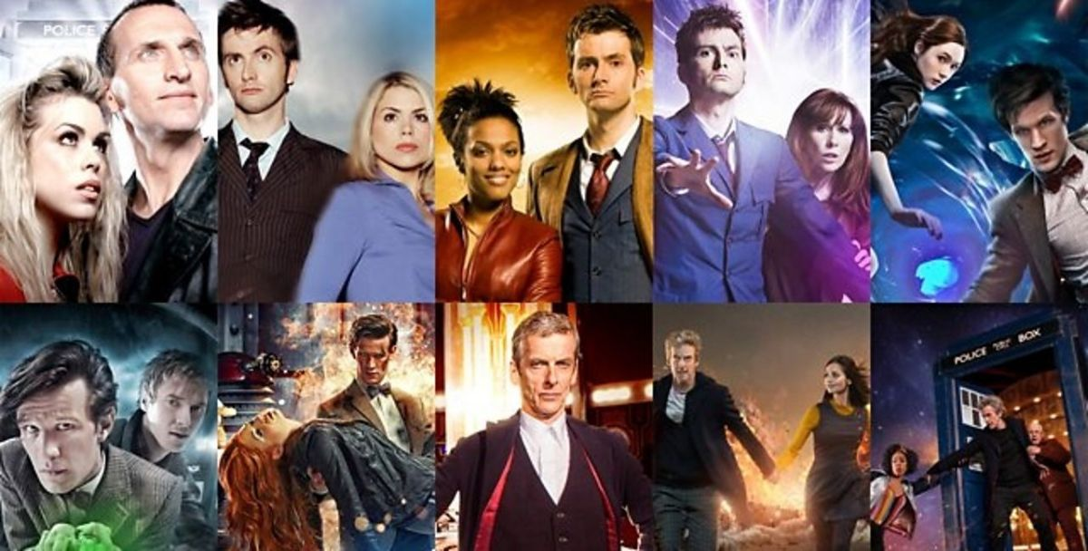 Doctor Who 9 to 12