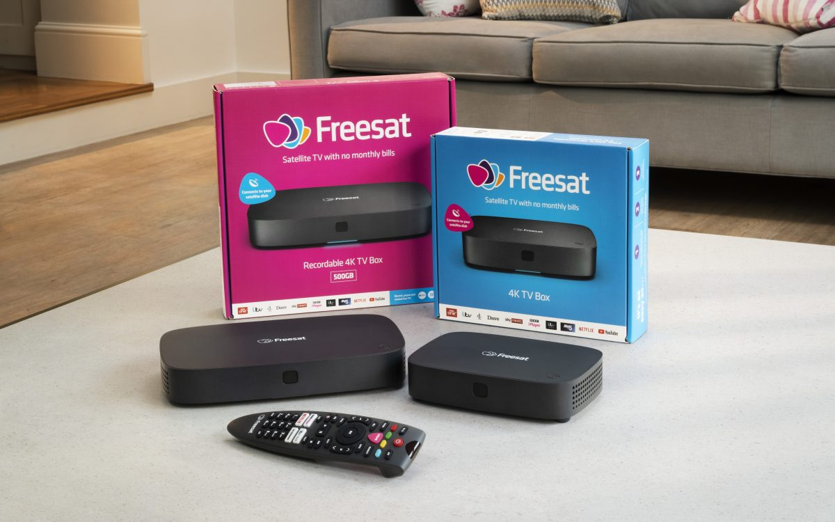 Freesat 4K TV Boxes
