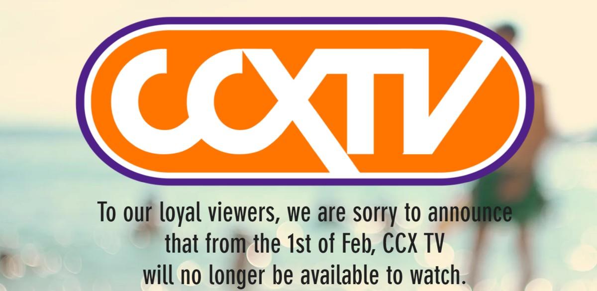 CCXTV Shutting down