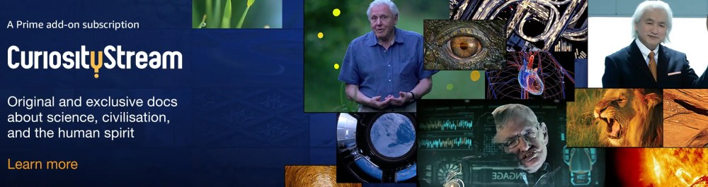 CuriosityStream on Amazon Prime Video