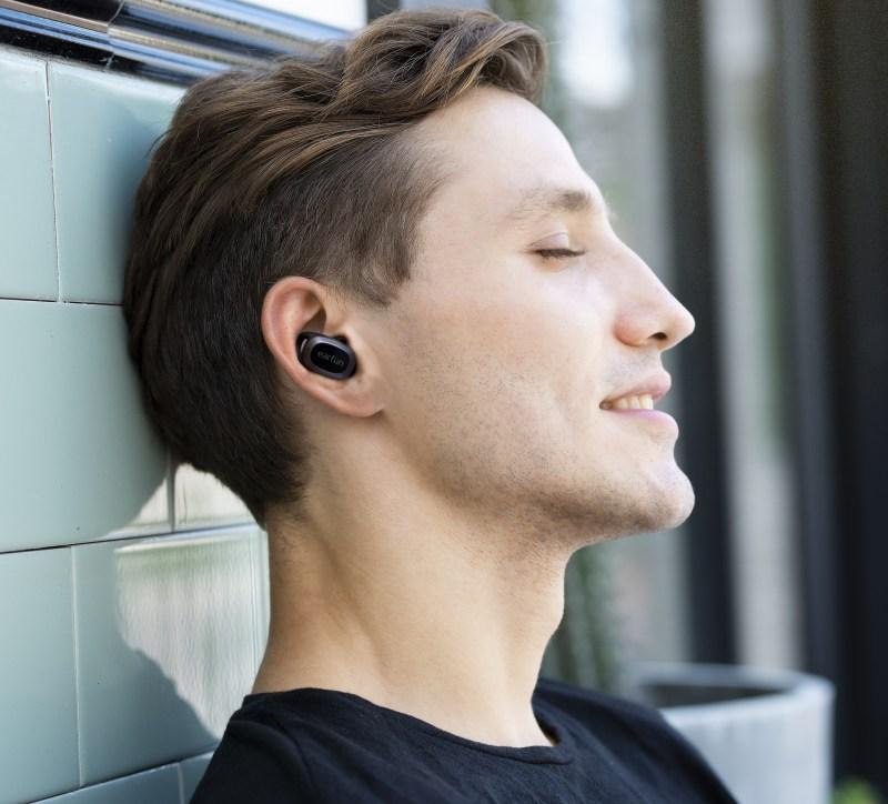EarFun Free Pro in ear
