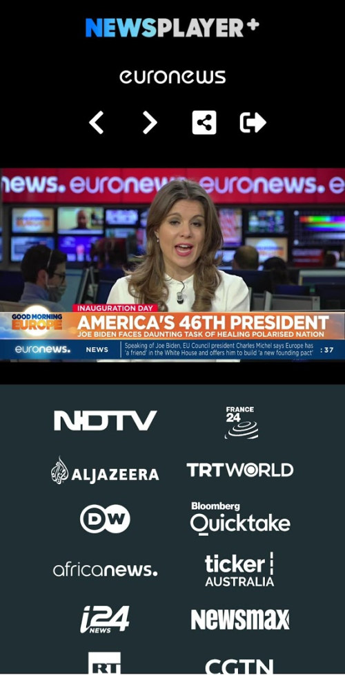 NewsPlayerPlus app