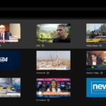 NewsPlayerPlus wall of news