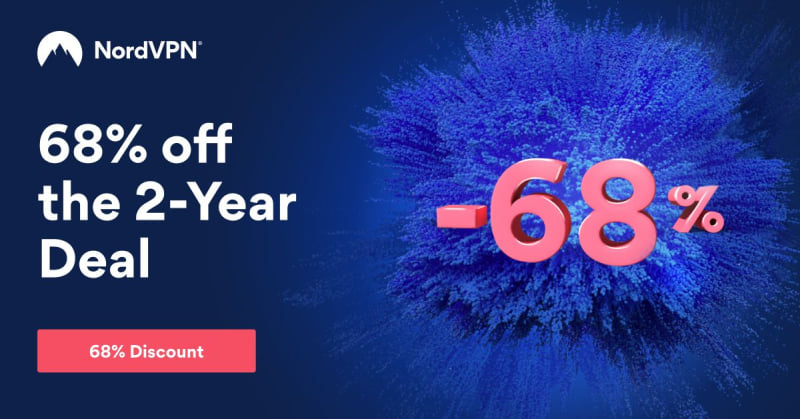 Nord VPN 68 off final sale