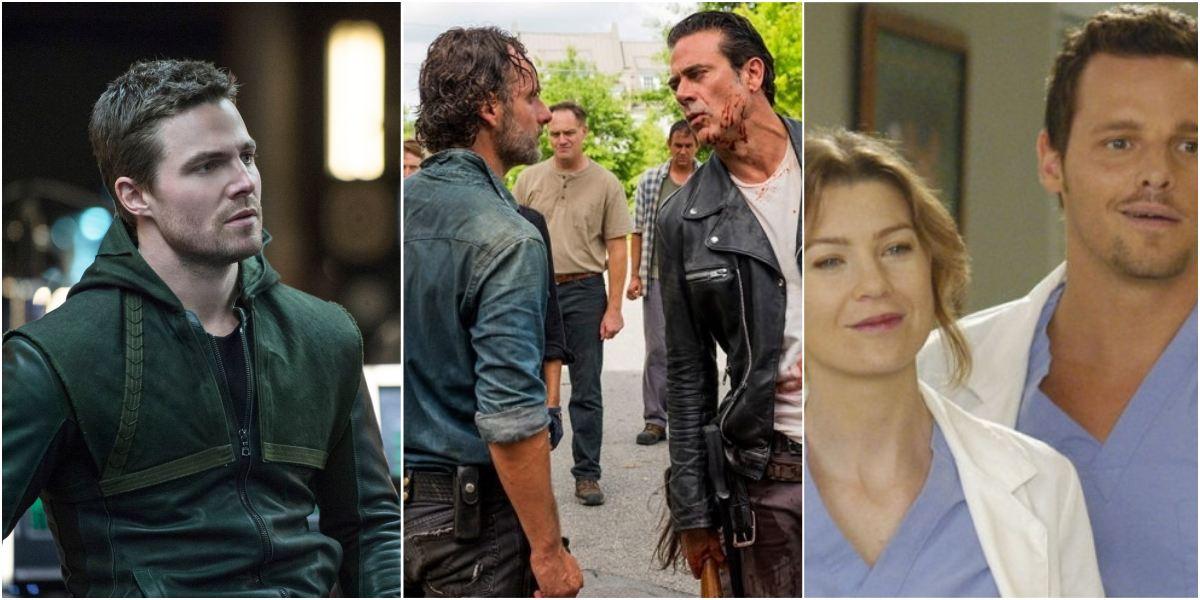 US Netflix TV Shows collage