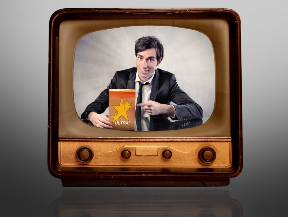 Advert on TV