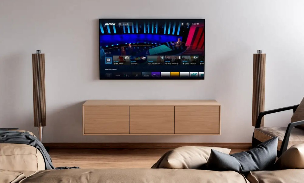 YouView new ui in living room