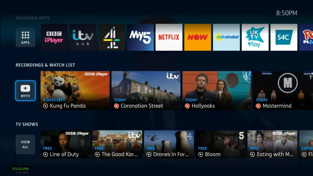 YouView new ui recordings