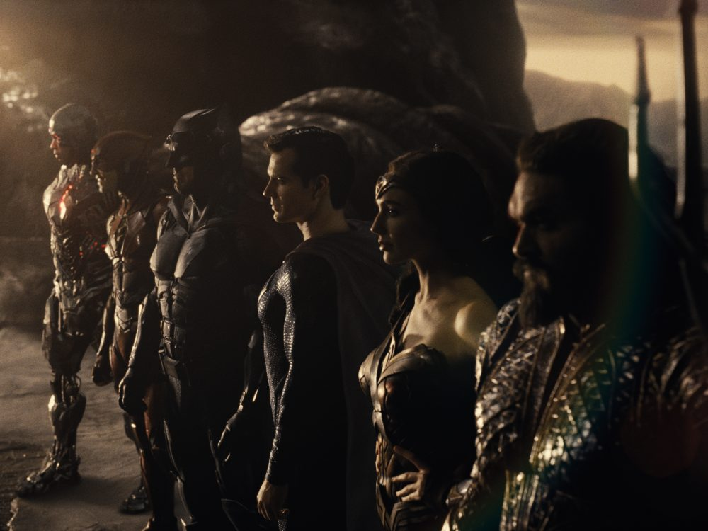 Zack Snyder Justice League party