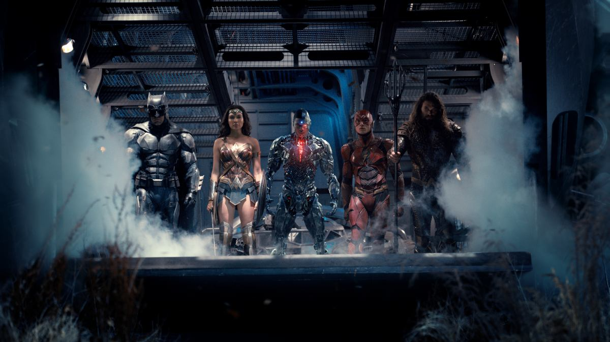 Zack Snyder Justice League smoke