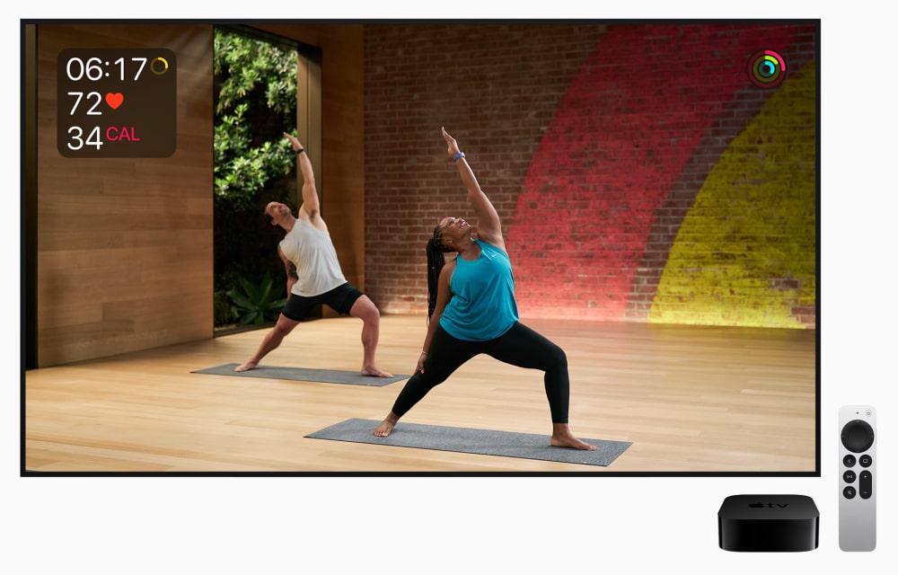 Apple Fitness on Apple TV 4K