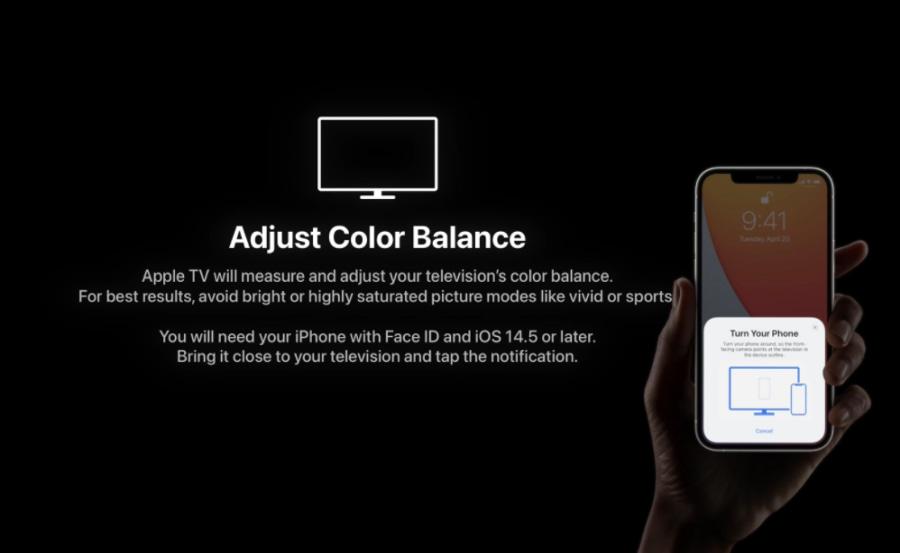 Apple TV 4K colour calibration