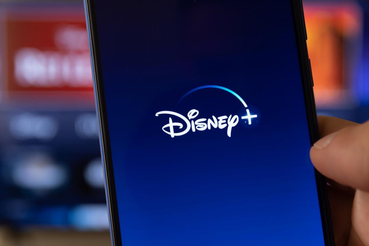 Disney Plus app on smartphone 1200