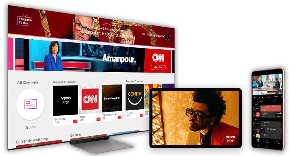 Samsung TV Plus devices