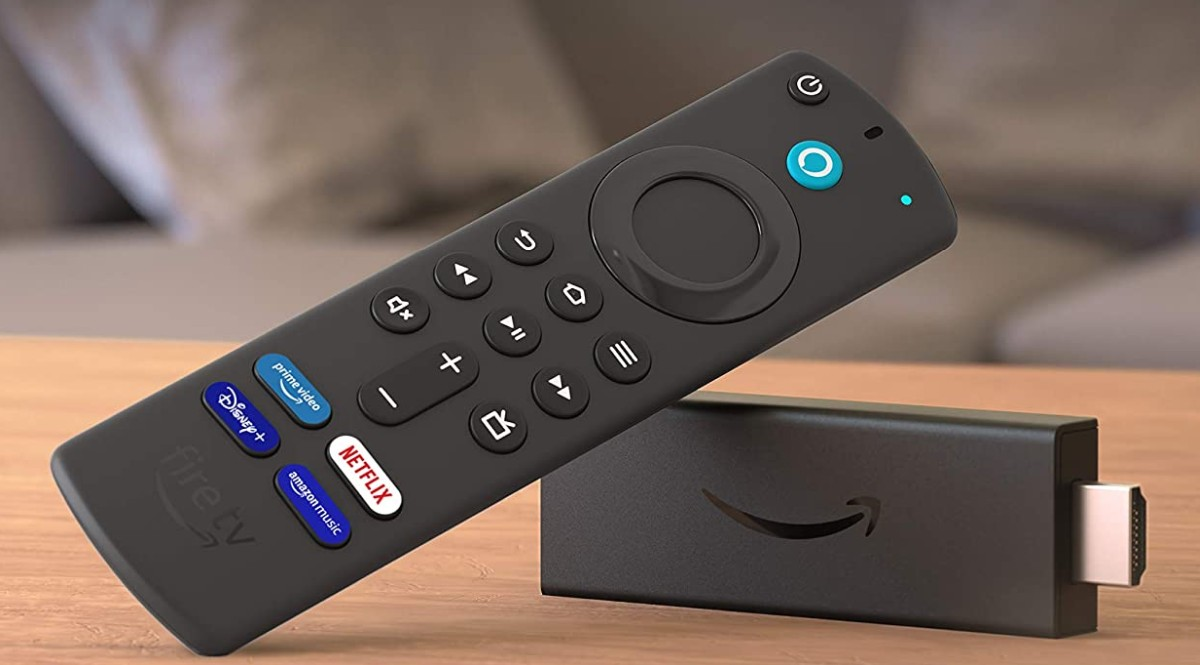 Fire TV Stick 3rd gen with new remote