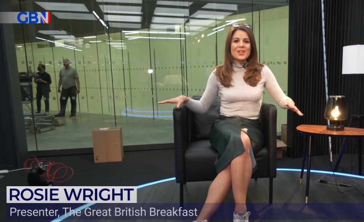 GB News rosie wright presenter