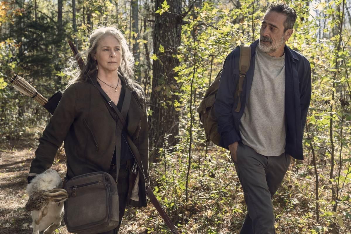 The Walking Dead negan carol season 10