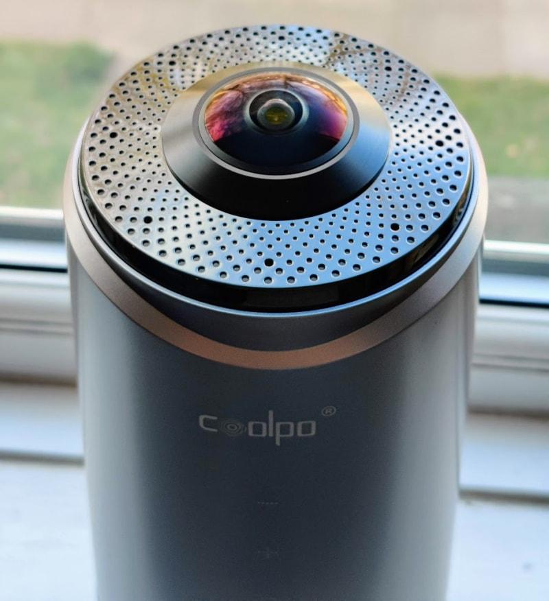Coolpo Pana cameras head