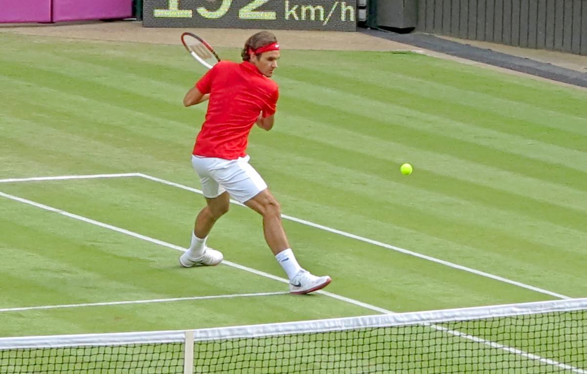 Roger Federer tennis 2012