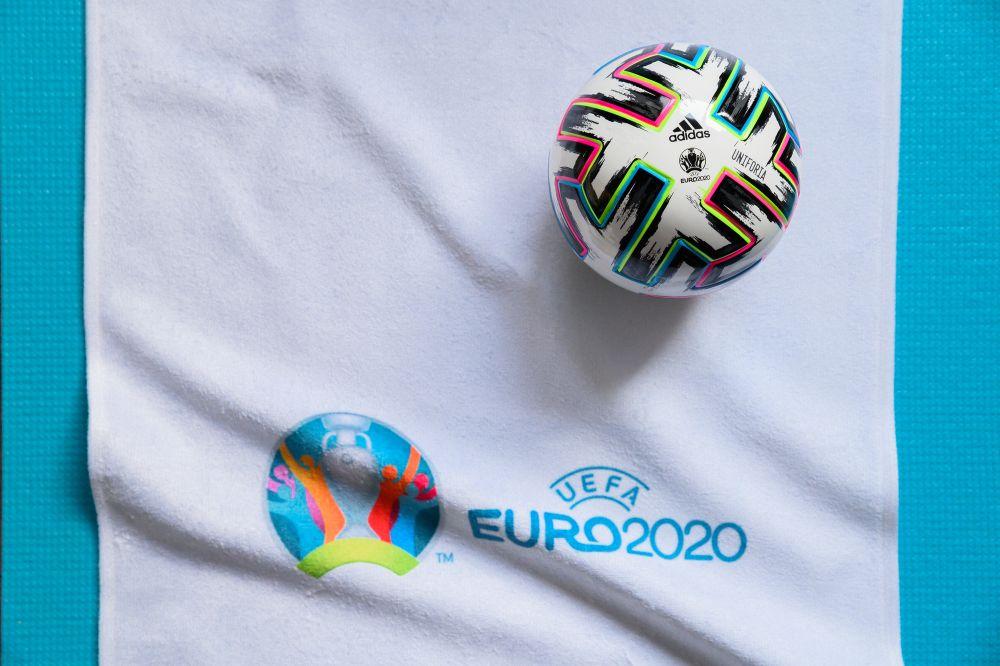 UEFA Euro 2020 logo and ball