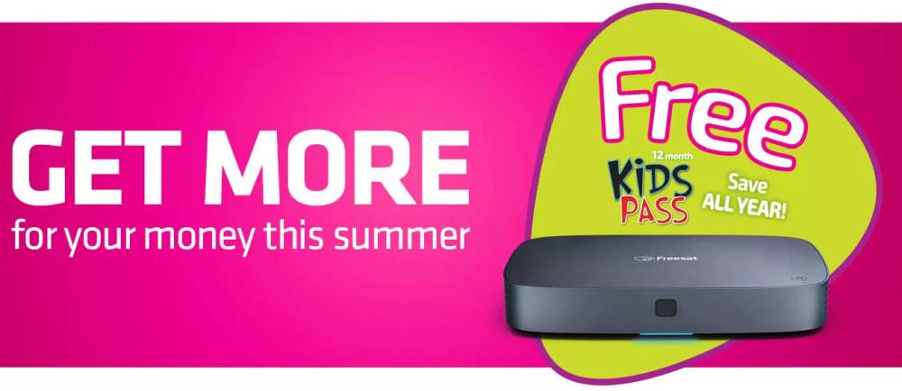 Freesat kids pass deal