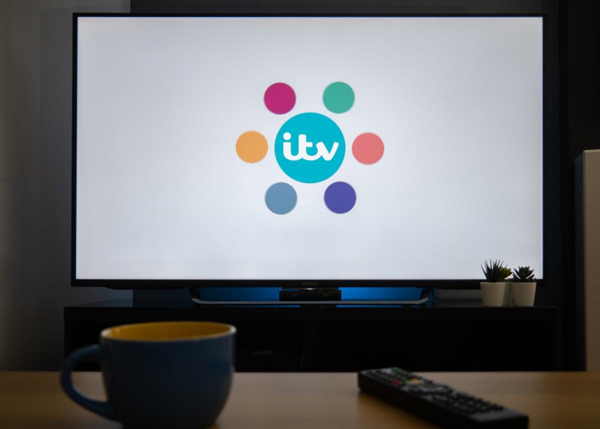 ITV Hub on TV - deposit - vantagedrones