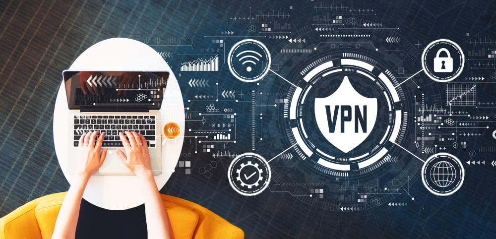 Using VPN on laptop