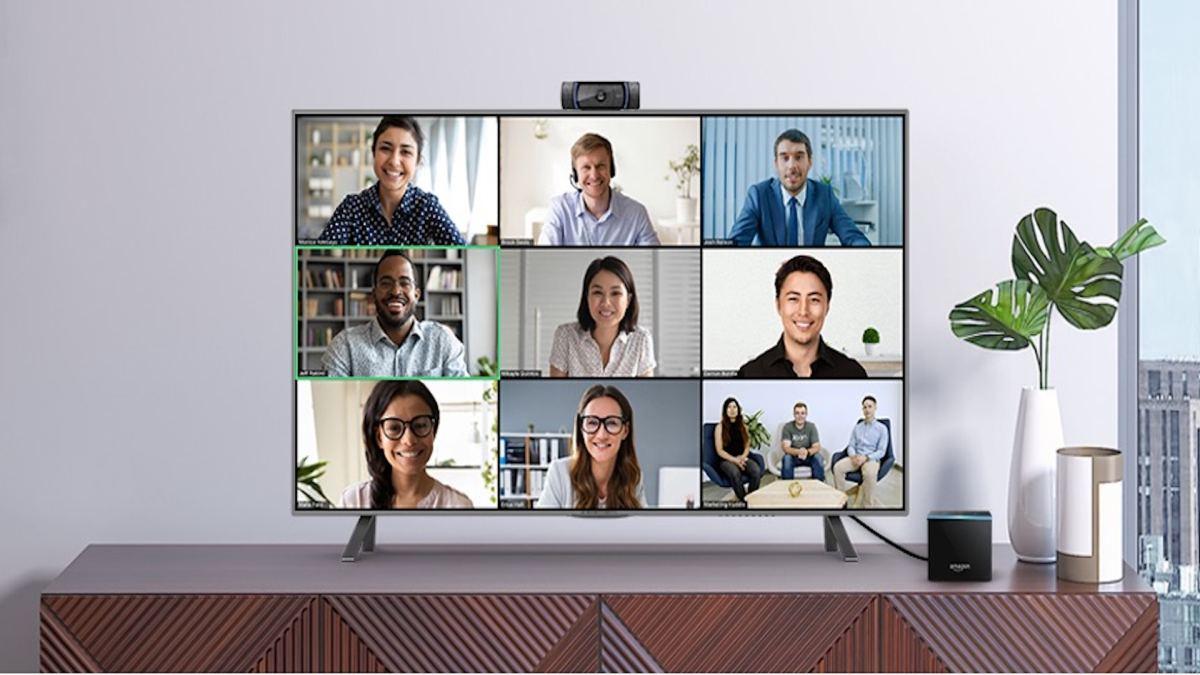 Zoom on Amazon Fire TV Cube