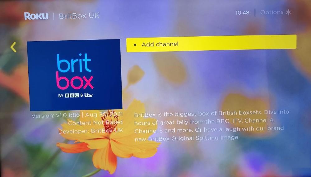 BritBox on Roku screenshot
