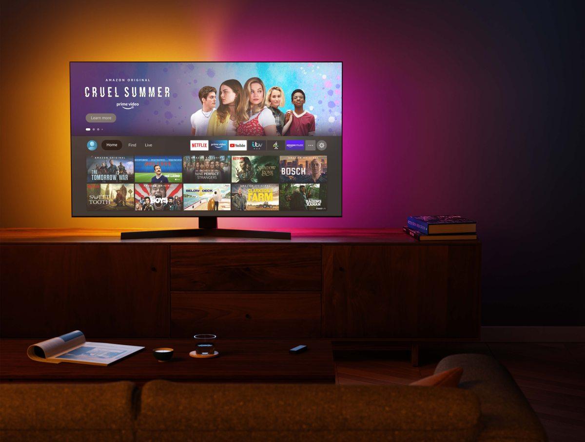 Amazon Fire TV Max living room